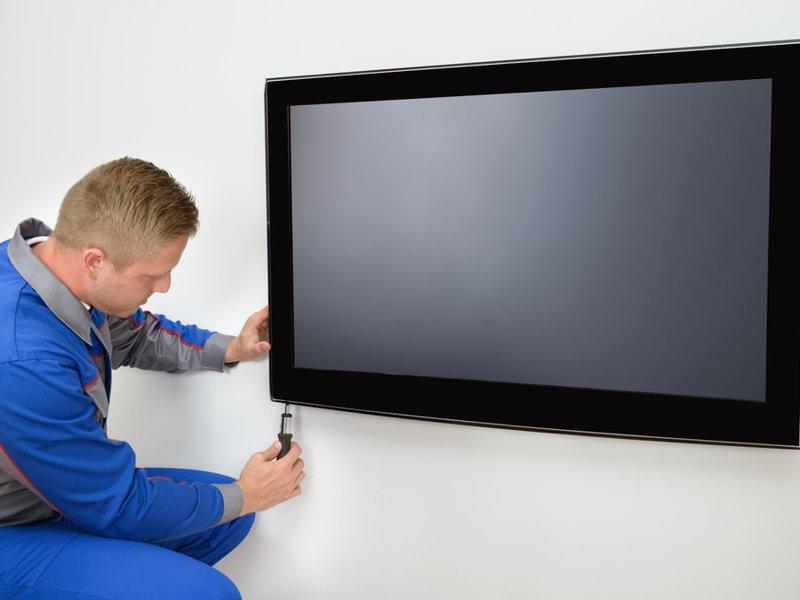 Montaż, wieszanie telewizorów